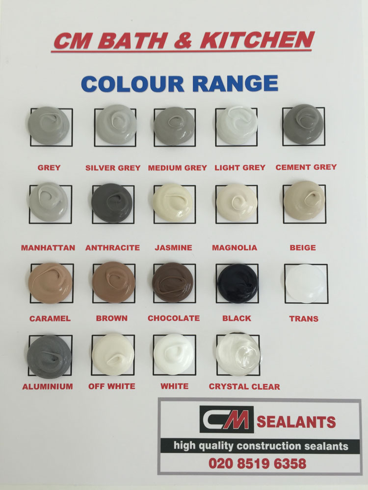 Dow Corning 791 Color Chart Rebellions